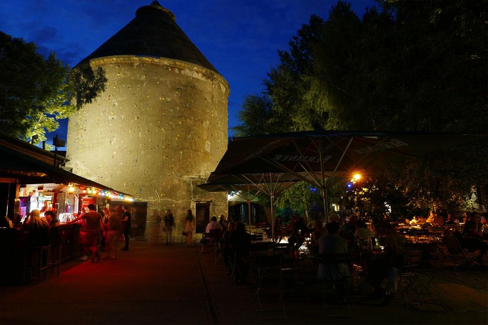 Freiluftkino Insel - Sommergarten - 2015